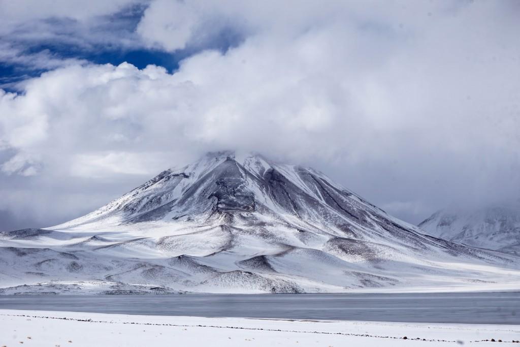 Schnee in der Wüste - Ein seltenes Ereignis