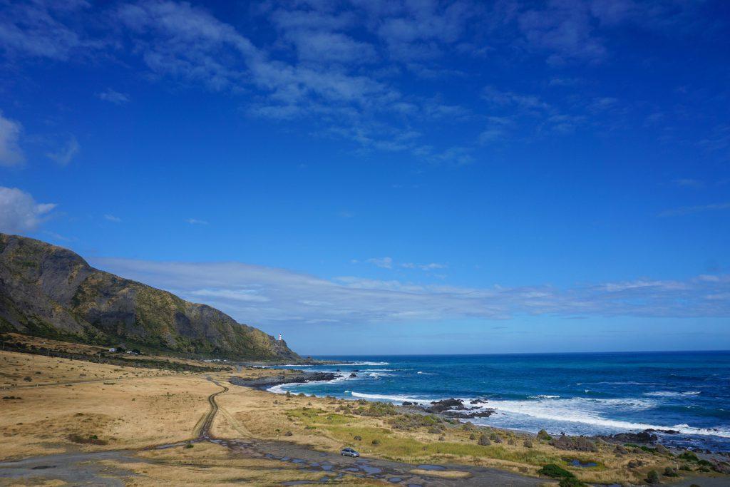 Strasse nach Cape Palliser