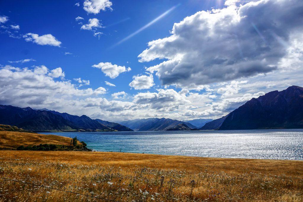 Weils so schön war, noch eins --> Lake Hawea