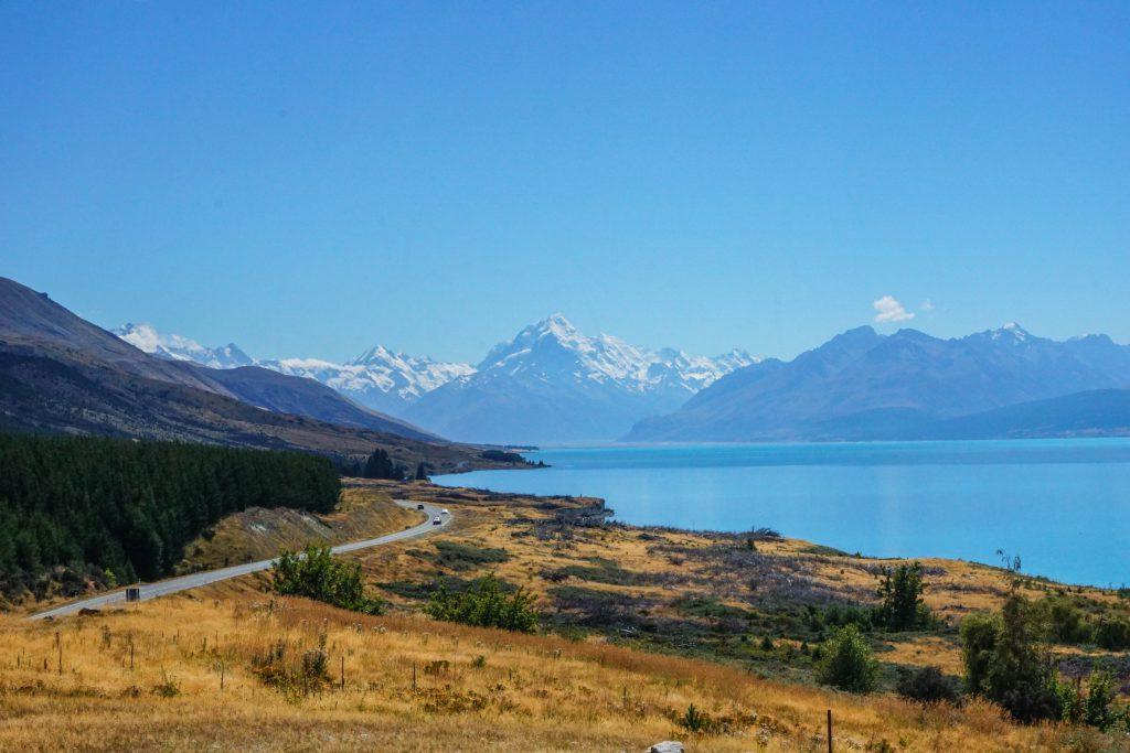 Mount Cook im Hintergrund