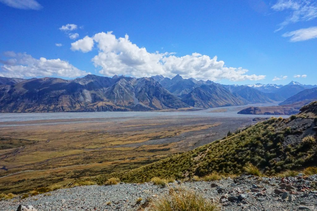 Sicht auf die Umgebung von Mount Sunday